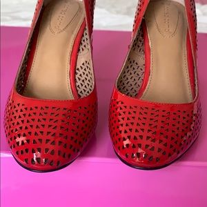 Corso Como Red Perforated Heels